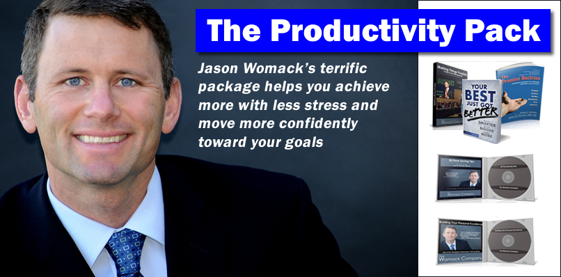 The Productivity Pack from Jason Womack