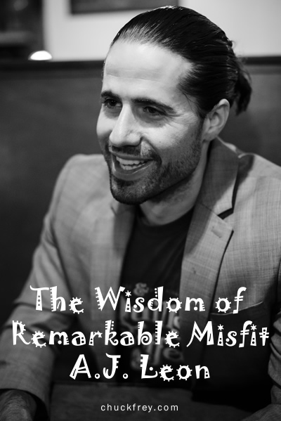 The astounding wisdom of 'remarkable misfit' A.J. Leon