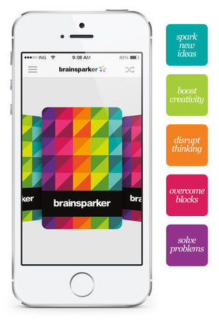 Brainsparker app - brainstorming tool for iPhone and iPad