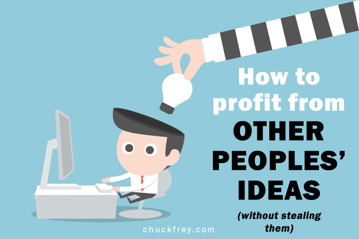 creativity: other peoples' ideas