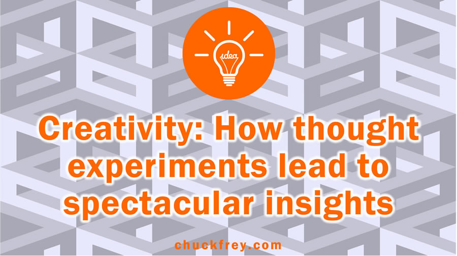 creativity: thought experiments
