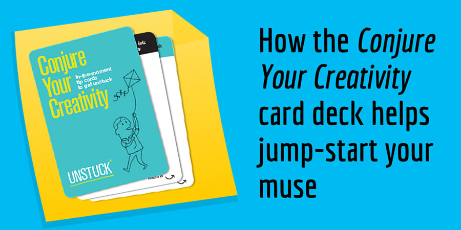 Conjure Your Creativity card deck