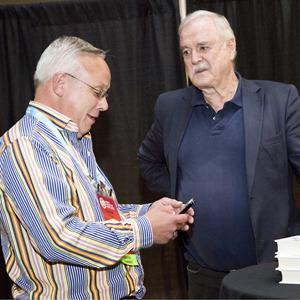 John Cleese and Chuck Frey