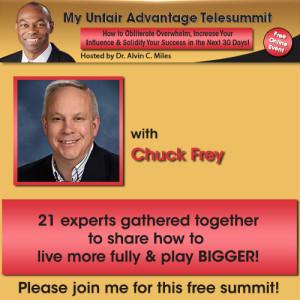 Chuck Frey - My Unfair Advantage