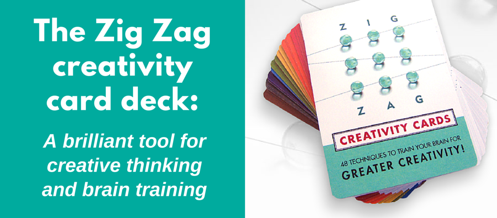Zig Zag creativity card deck