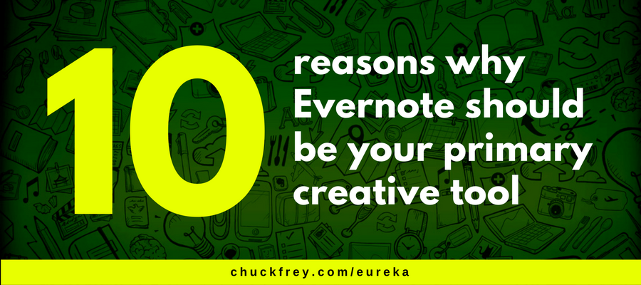 Evernote - the ideal creativity tool