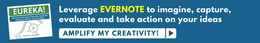 Buy my guide to creativity with Evernote now