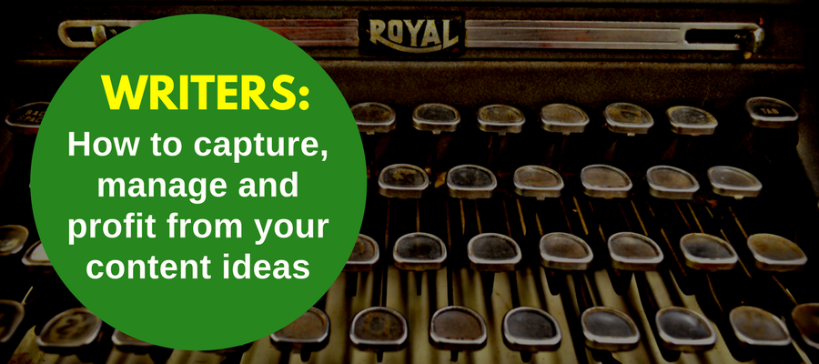 Evernote creativity for writers
